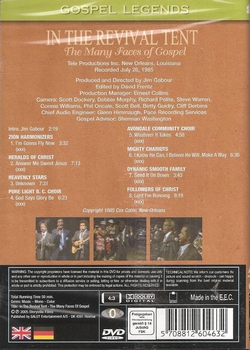 DVD Gospel Legends - In the Revival Tent