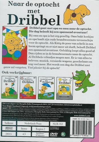DVD Tekenfilm - Naar de optocht met Dribbel