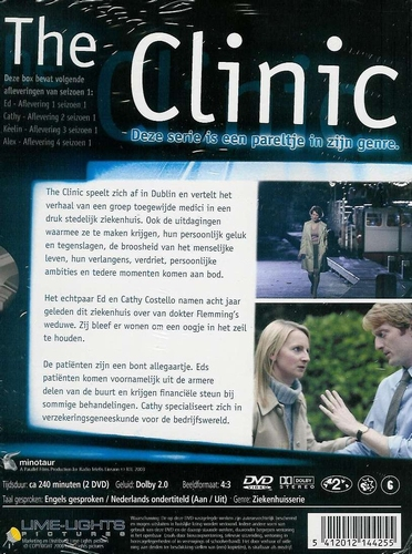 DVD TV series - The Clinic seizoen 1 deel 1