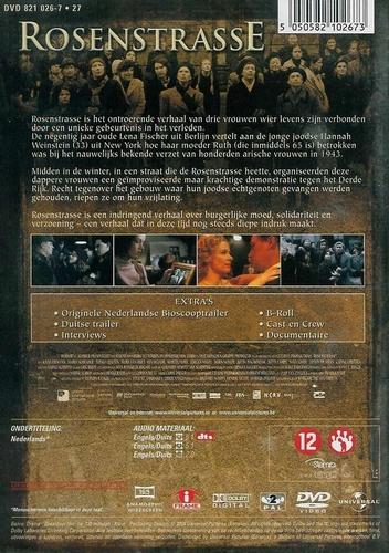DVD oorlogs drama - Rosenstrasse