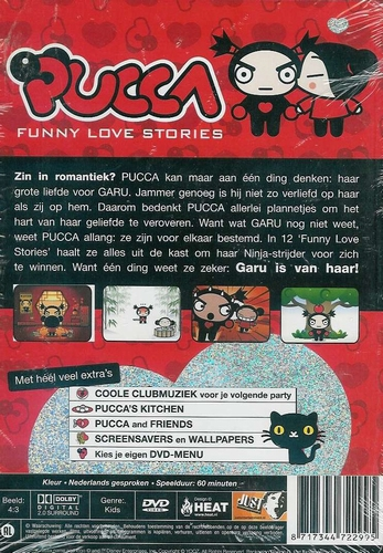 Kinder DVD - Pucca - Funny Love Stories