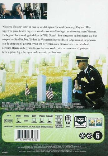DVD oorlogs drama - Gardens of Stone