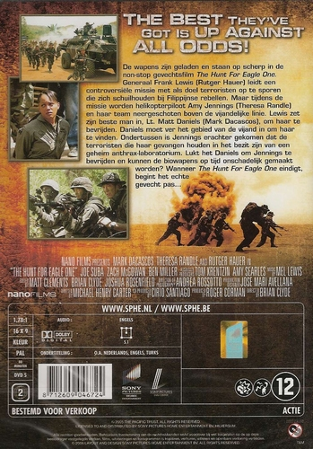 DVD oorlogsfilms - The Hunt for Eagle One