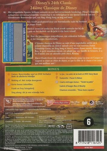 Disney DVD - Frank en Frey (SE)
