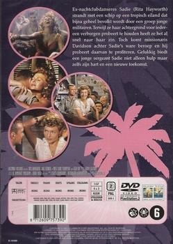 Classic movies DVD - Miss Sadie Thompson