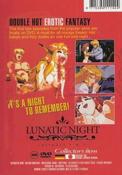 Adult Manga DVD - Lunatic Night 1 & 2