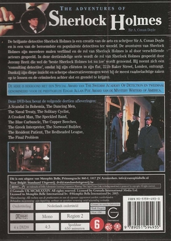 DVD TV series - The Adventures of Sherlock Holmes