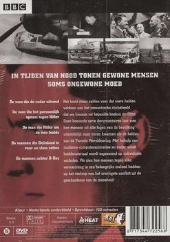 DVD oorlogsdocumentaire - Helden van de Tweede Wereldoorlog