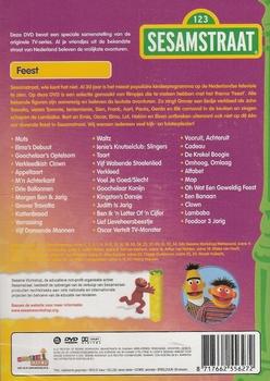 DVD Sesamstraat - Feest