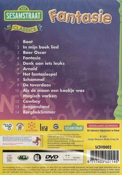 DVD Sesamstraat - Fantasie
