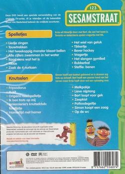 DVD Sesamstraat - Spelletjes en knutselen