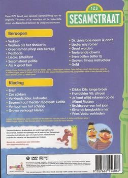 DVD Sesamstraat - Beroepen en Kleding