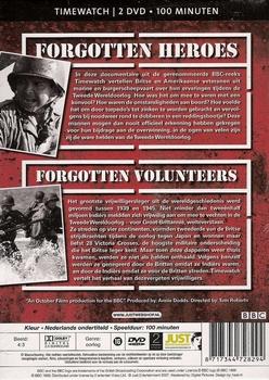 DVD box - Forgotten Heroes & Volunteers of WW II (2 DVD)
