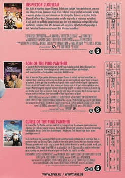DVD Pink Panther film collection (3 DVD box)