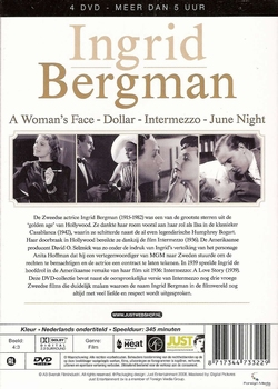 DVD Box - Ingrid Bergman (4 DVD)