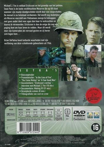 DVD oorlogsfilms - Casualties of war