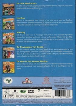 Tekenfilm DVD box - De Grote Avonturen Box 2 (5 DVD)