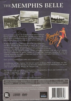 DVD oorlogsdocumentaire - Memphis Belle