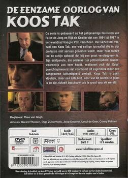TV serie DVD - De eenzame oorlog van Koos Tak (2 DVD)