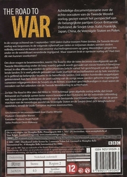 DVD box - The Road to War