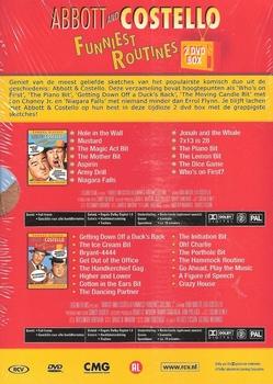 DVD box - Abbott and Costello - Funniest Routines (2 DVD)