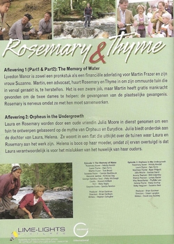 DVD TV series - Rosemary & Thyme seizoen 2 deel 1