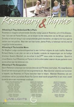 DVD TV series - Rosemary & Thyme seizoen 2 deel 2