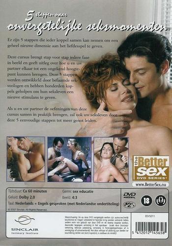 DVD Better sex - 5 stappen naar onvergetelijke seksmomenten