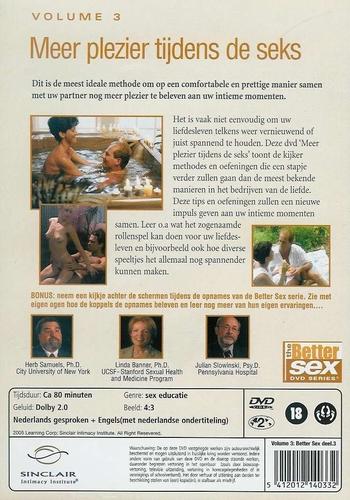 DVD Better sex 3 - Meer Plezier Tijdens de Sex