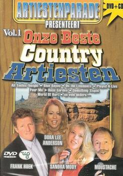 CD+DVD - Onze Beste Country Artiesten Vol. 1