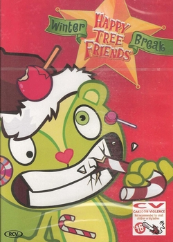 DVD Happy Tree Friends - Winter Break