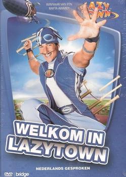 DVD Jeugdfilm - Lazy Town - Welkom in Lazytown
