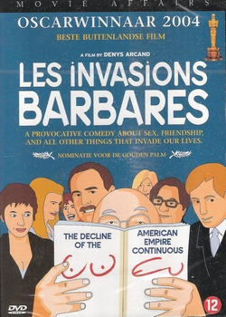 Franse film DVD - Les Invasions Barbares