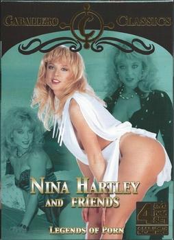 Erotiek DVD box - Nina Hartley and Friends (4 DVD)