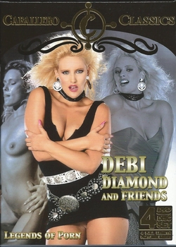Erotiek DVD box - Debbi Diamond and Friends (4 DVD)