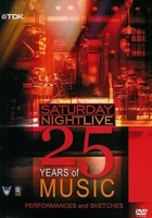 DVD box - Saturday Night Live 25 Years of Music