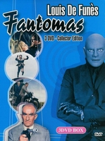DVD box - Louis de Funes Fantomas (3 DVD)