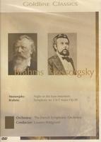 Goldline Classics DVD - Brahms - Mussorgsky