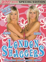 3 DVD box London Shaggers