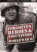 DVD box - Forgotten Heroes & Volunteers of WW II (2 DVD)