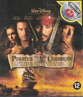 Blu-ray - Pirates of the Caribbean Curse of the Black Pearl