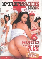 Private DVD - 6 Nurses that take it up the Ass