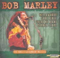 Muziek CD Bob Marley - Great Legend of Reggae